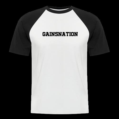 Kortärmad tröja GN hard text - Kortärmad basebolltröja herr