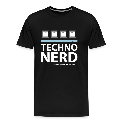 Techno Nerd Ice - Men's Premium T-Shirt