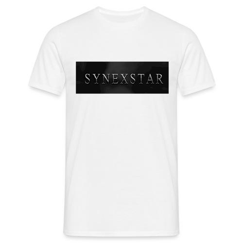 Synexstar Logo T-Shirt - Männer T-Shirt