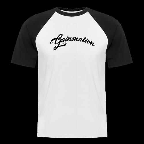 Kortärmad tröja GN curved text - Kortärmad basebolltröja herr