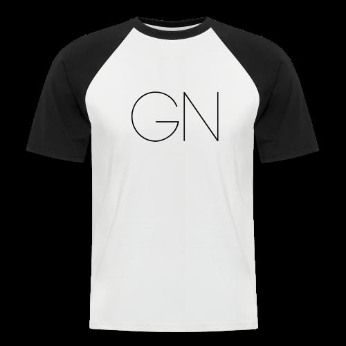 Kortärmad tröja GN slim text - Kortärmad basebolltröja herr