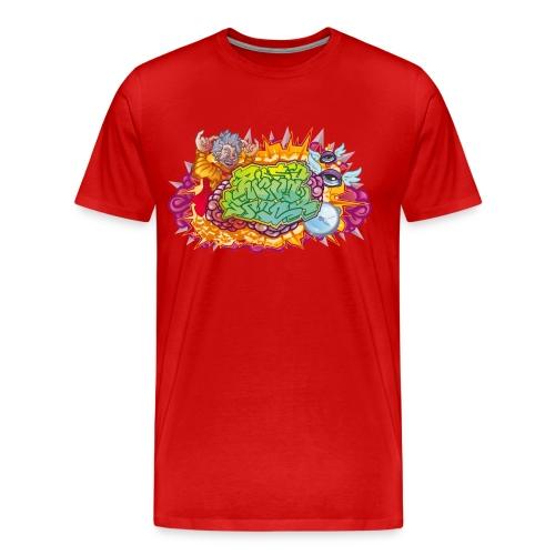 Mind Trick M - Herre premium T-shirt