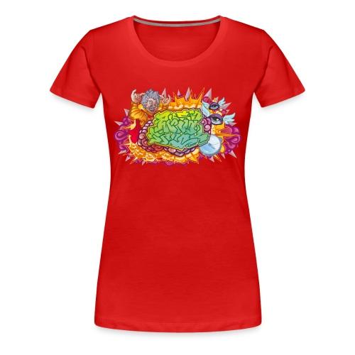 Mind Trick F - Dame premium T-shirt