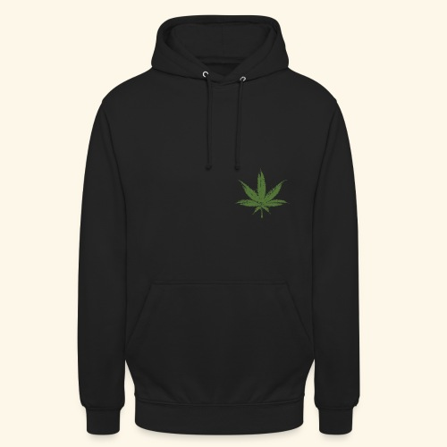 Weed - Sweat-shirt à capuche unisexe