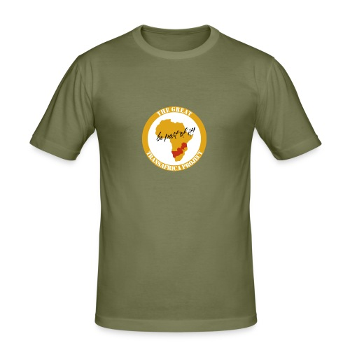 T-Shirt safari The Great Transafrica Project (Männer) - Männer Slim Fit T-Shirt