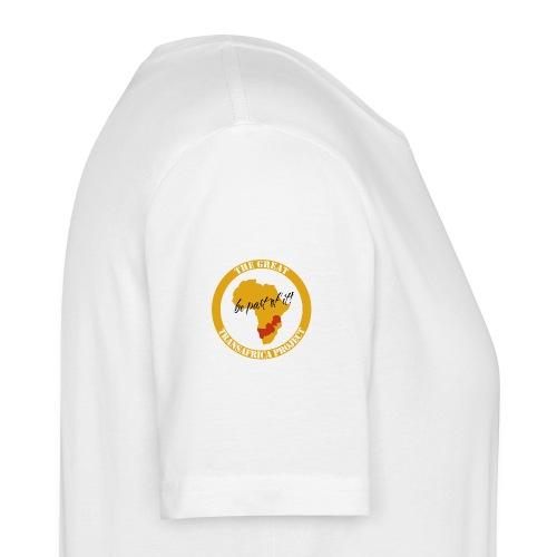 T-Shirt weiß The Great Transafrica Project (Männer) - Männer Bio-T-Shirt