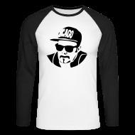 Langarmshirts ~ Männer Baseballshirt langarm ~ Edi Chicago Baseballshirt Langarm