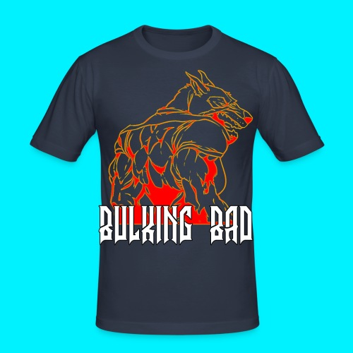 Bulking Bad TSHIRT ADERENTE - Maglietta aderente da uomo