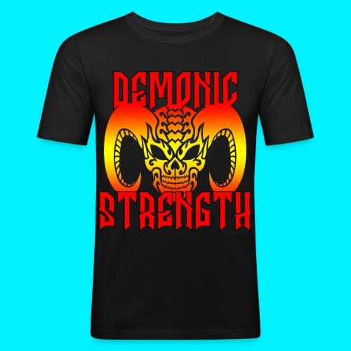 Demonic Strength TSHIRT ADERENTE - Maglietta aderente da uomo
