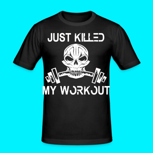 Just Killed My Workout TSHIRT ADERENTE - Maglietta aderente da uomo