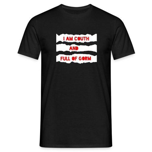couth and gorm - Men's T-Shirt