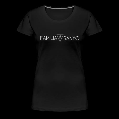 Camiseta premium mujer - familia sanyo,camiseta mujer