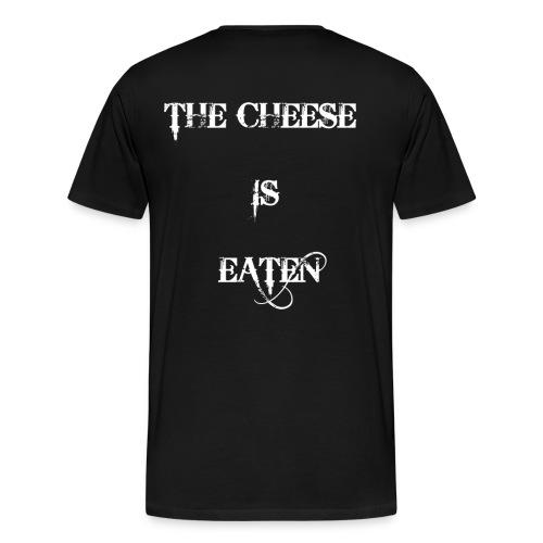 Sprüche Witzig Lustig Sprichwort Käse Cheese - Männer Premium T-Shirt