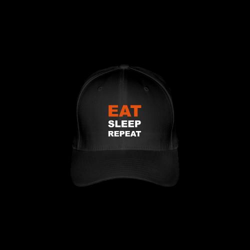 Cap EAT SLEEP REPEAT - Flexfit Baseballkappe