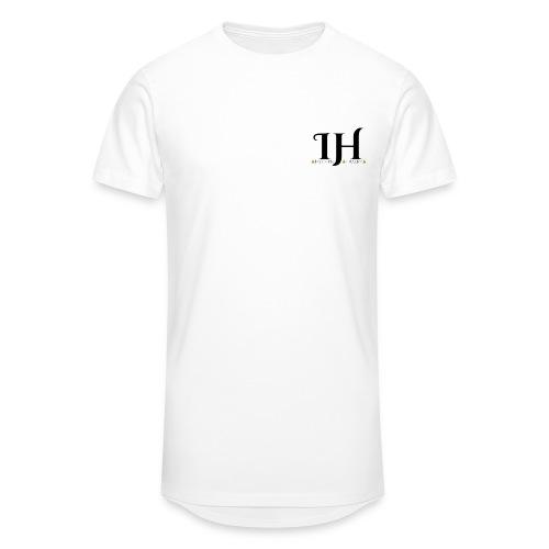 Infinite Horizon Gold Triangles Logo - Men's Long Body Urban Tee
