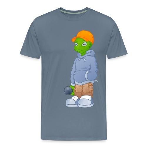 Alien M - Herre premium T-shirt