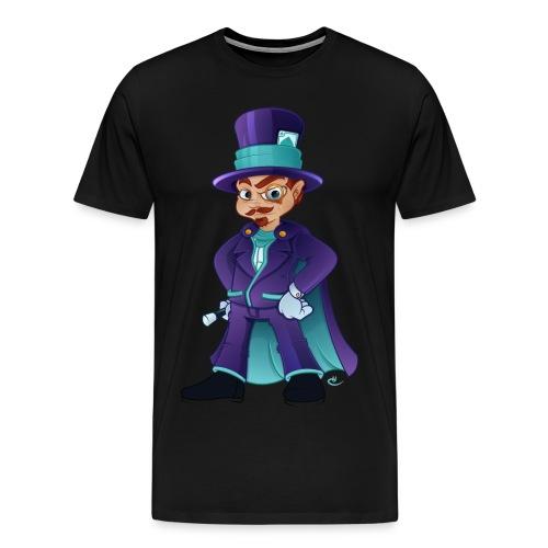 Wizard M - Herre premium T-shirt