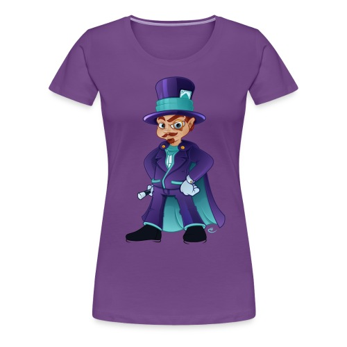 Wizard F - Dame premium T-shirt