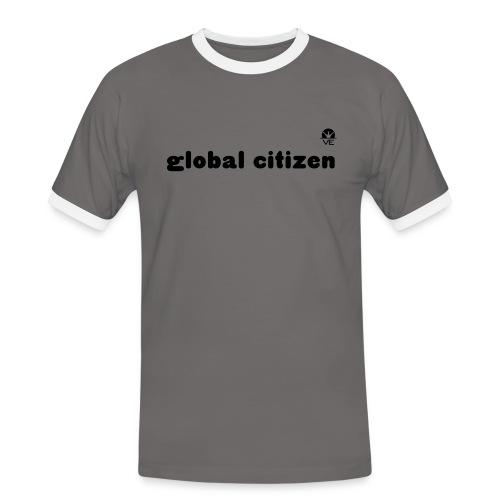 global citizen T-Shirt - Männer Kontrast-T-Shirt
