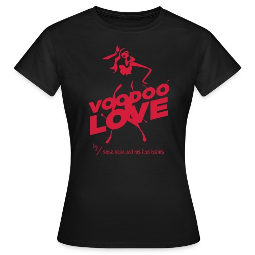 Voodoo Love (red on black) - Frauen T-Shirt
