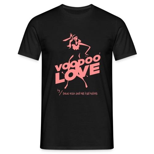Voodoo Love (pink on black) - Männer T-Shirt