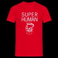 T-Shirts ~ Männer T-Shirt ~ Super Human Frankfurt - Bembeltown Frankfurt