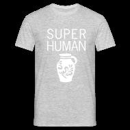 T-Shirts ~ Männer T-Shirt ~ Super Human Bembel - Bembeltown Frankfurt