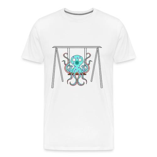 Oktopus-Shirt Männer Weiß - Männer Premium T-Shirt