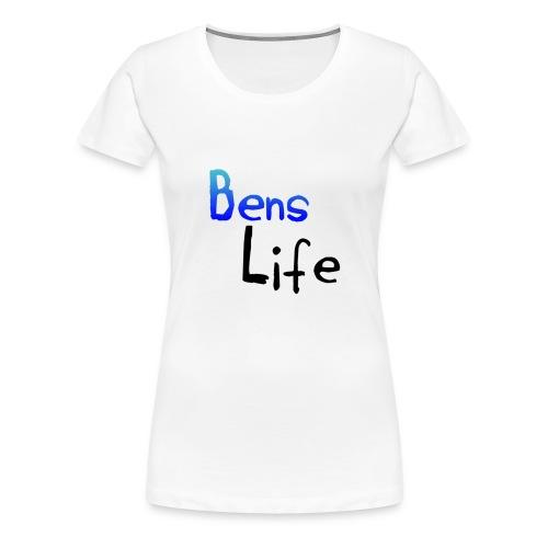 Women's Official 'Bens Life' T-Shirt - Women's Premium T-Shirt