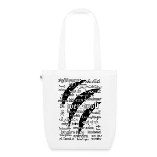Werewolf in 33 Languages - EarthPositive Tote Bag - Ekologiczna torba materiałowa