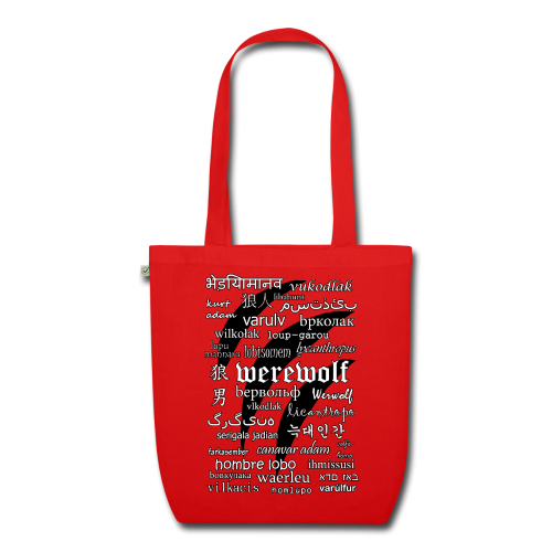 Werewolf in 33 Languages - EarthPositive Tote Bag - EarthPositive Tote Bag