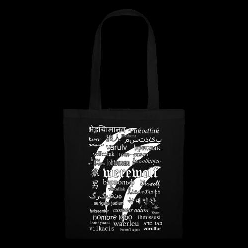 Werewolf in 33 Languages - Tote Bag (Black Ver.) - Tote Bag