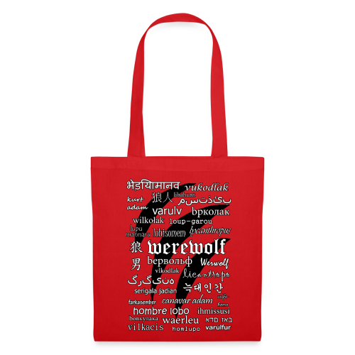 Werewolf in 33 Languages - Tote Bag - Tote Bag