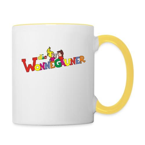Tasse Wonnegauner - Tasse zweifarbig