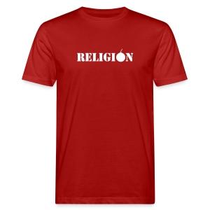 Religion - Økologisk T-skjorte for menn