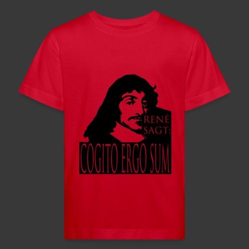 DESCARTES - COGITO ERGO SUM - Kids' Organic T-shirt