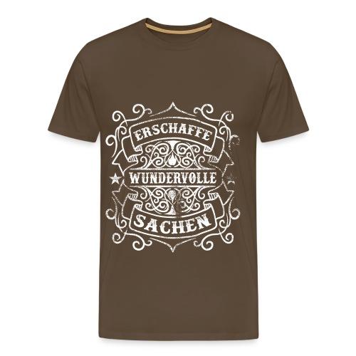 Erschaffe wundervolle Sachen - Männer Premium T-Shirt