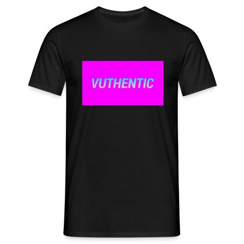 VUTHENTIC LOGO TEE - Men's T-Shirt