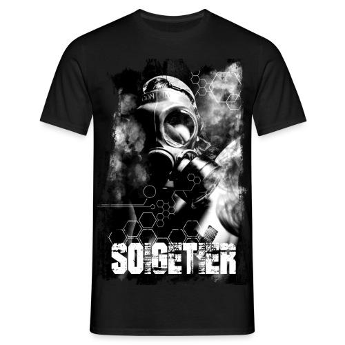 Männer T-Shirt Soigetier Smoke - Männer T-Shirt