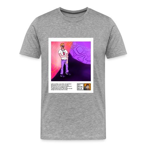 Cooper Hewitt - 01 - Luke S - Polaroid - Männer Premium T-Shirt