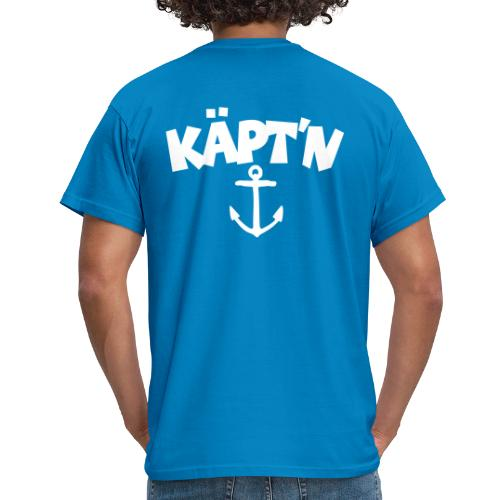 Käpt'n Anker T-Shirt (Rücken) - Männer T-Shirt