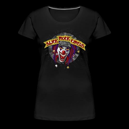 Slick Rock Circus - Evil Clown Girlie Shirt - Frauen Premium T-Shirt