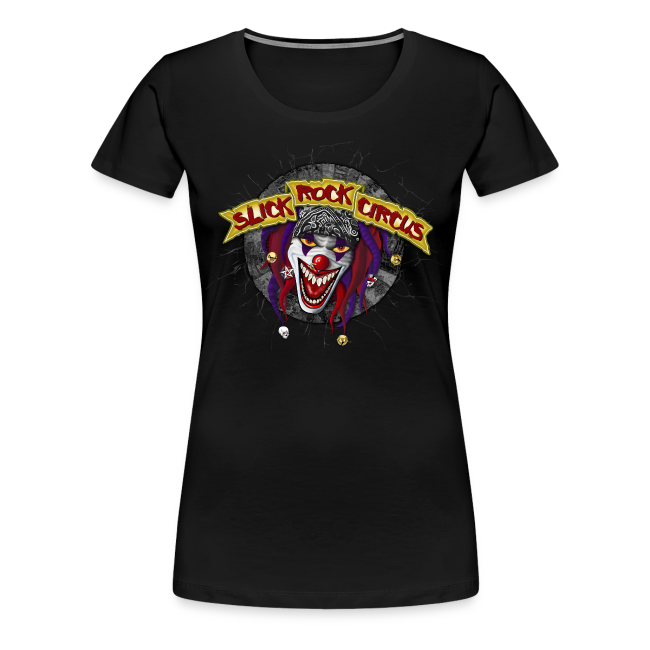 Slick Rock Circus - Evil Clown Girlie Shirt