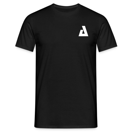 APEX 'A' Men's Tee Black - Men's T-Shirt
