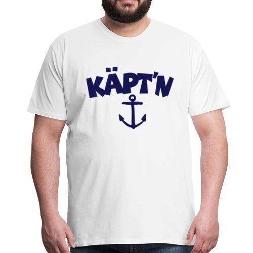 Käpt'n Anker S-5XL Segel T-Shirt - Männer Premium T-Shirt