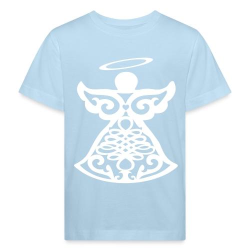 Tee shirt Bio Enfant avec ange gardien stylisé - Kids' Organic T-Shirt