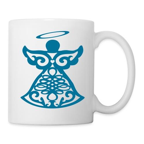 Tasse avec ange gardien stylisé - Mug