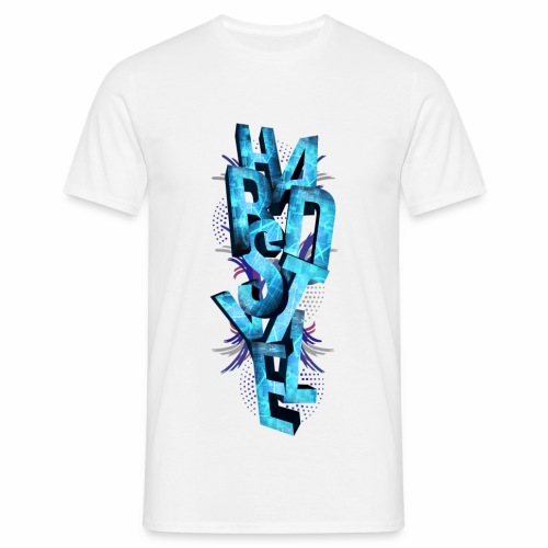HARDSTYLE 3D - Men's T-Shirt