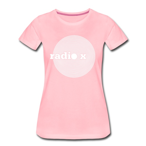DISC weiß - samtig  - Frauen Premium T-Shirt