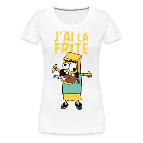 T-Shirt/F/Frite - VPC - T-shirt Premium Femme